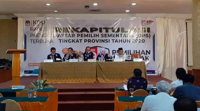 Rekapitulasi Pleno DPS Provinsi Jambi