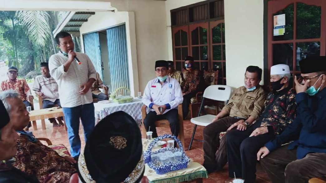 Romi Hariyanto bersama tokoh Tanjab Timur dan Al Haris