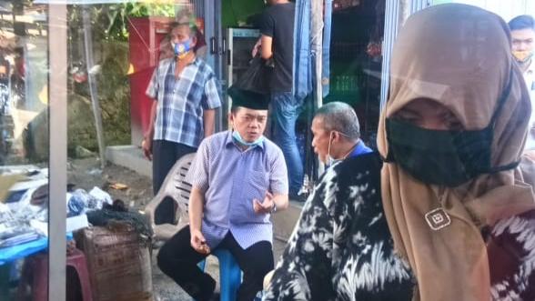 Al Haris saat di Pasar Baru, Batang Asam