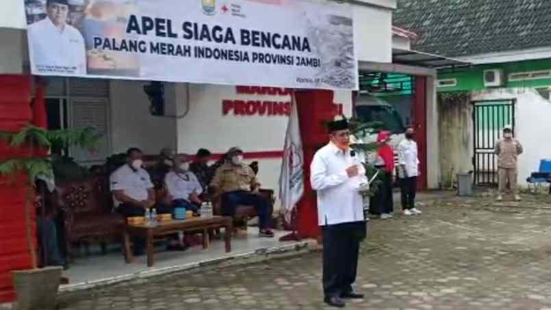 Apel siaga bencana PMI Provinsi Jambi