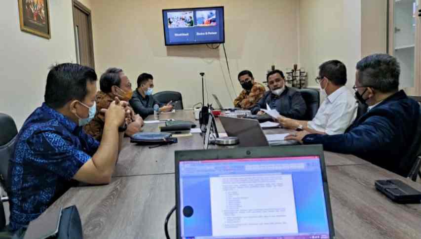 Al Haris bersama Tim Advokasi Al Haris-Sani
