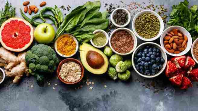 Makanan sehat (ilustrasi)