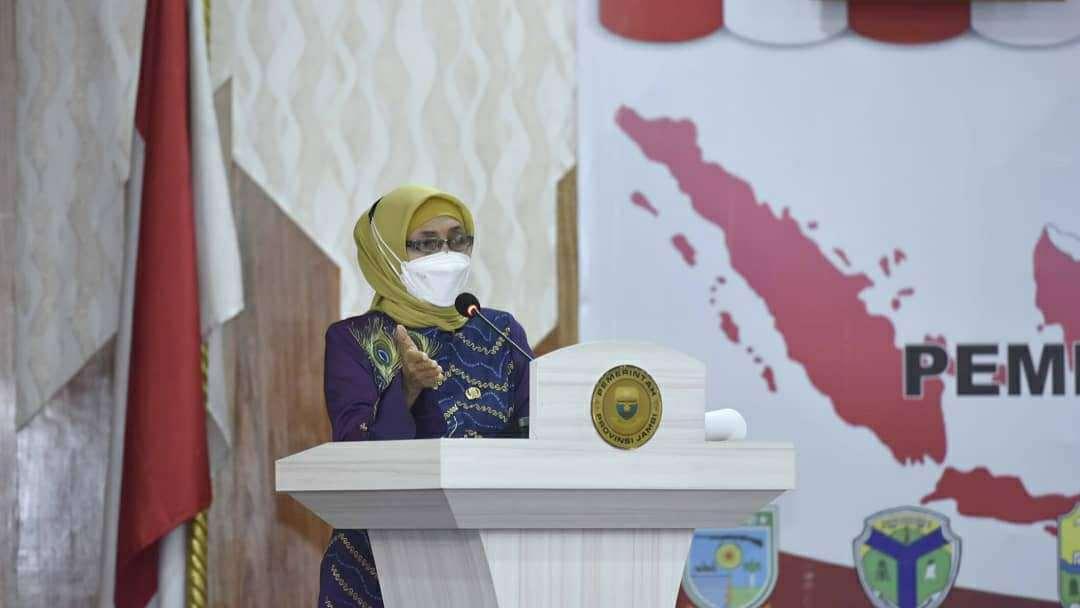 Pj Gubernur Jambi, Dr. Hari Nur Cahya Murni, M. Si