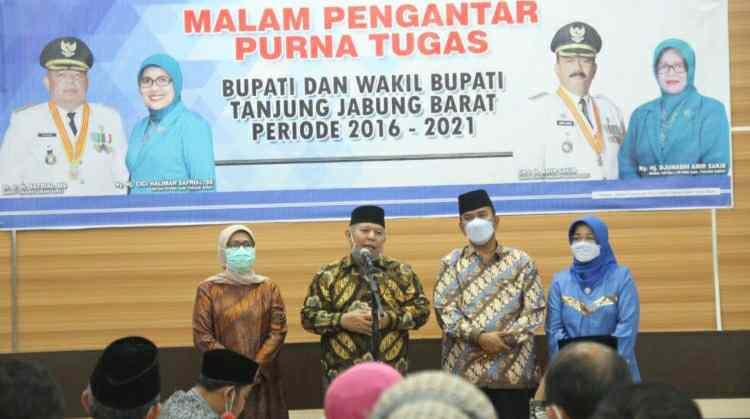 malam Pengantar Purna Tugas Bupati dan Wakil Bupati Tanjung Jabung Barat