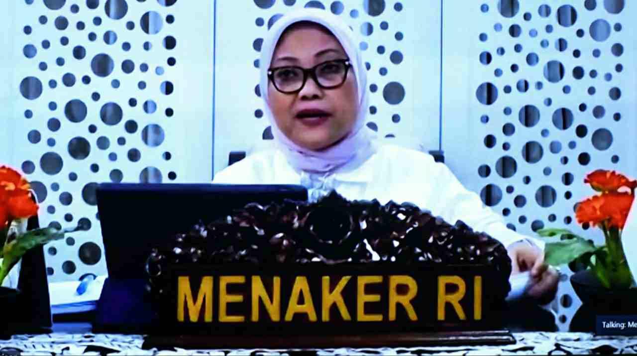 Menaker RI, Ida Fauziyah