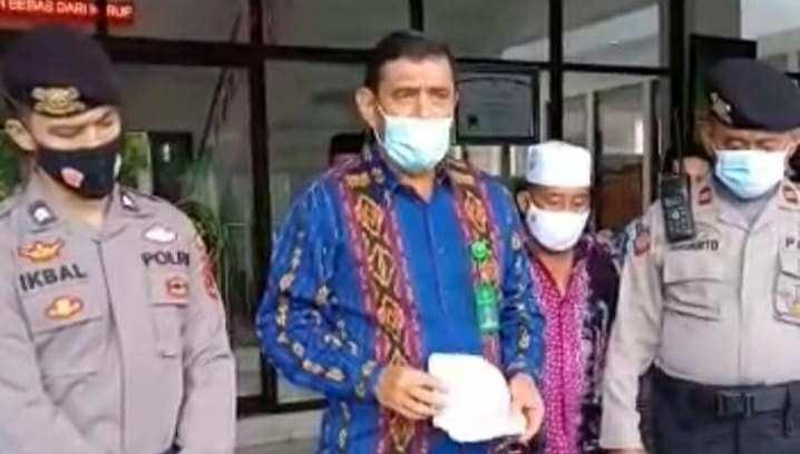 Petugas Humas Kejati Jambi, Sianturi saat jumpai pendemo