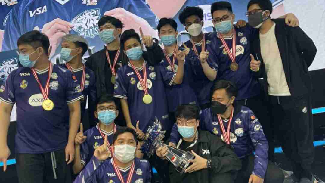 EVOS Legends saat juara MPL Indonesia season 7