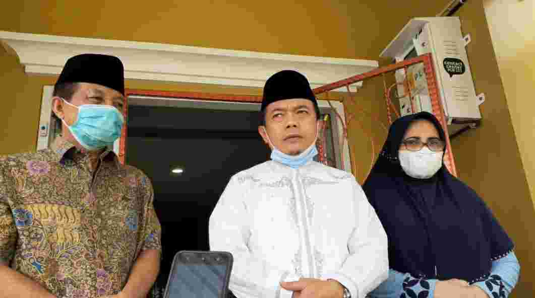 Fachrori Umar (kiri), Al Haris dan Rahima Fachrori