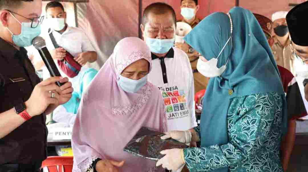 Launching Gerakan Serempak Pekan Vaksinasi Lansia Se-Provinsi Jambi