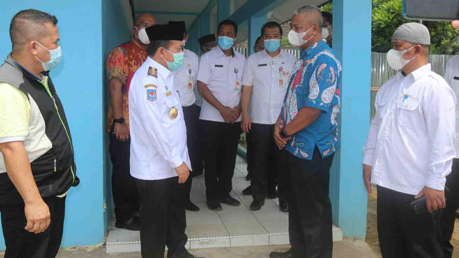 Gubernru Al Haris saat kunjungan kerja ke BNN Provinsi Jambi