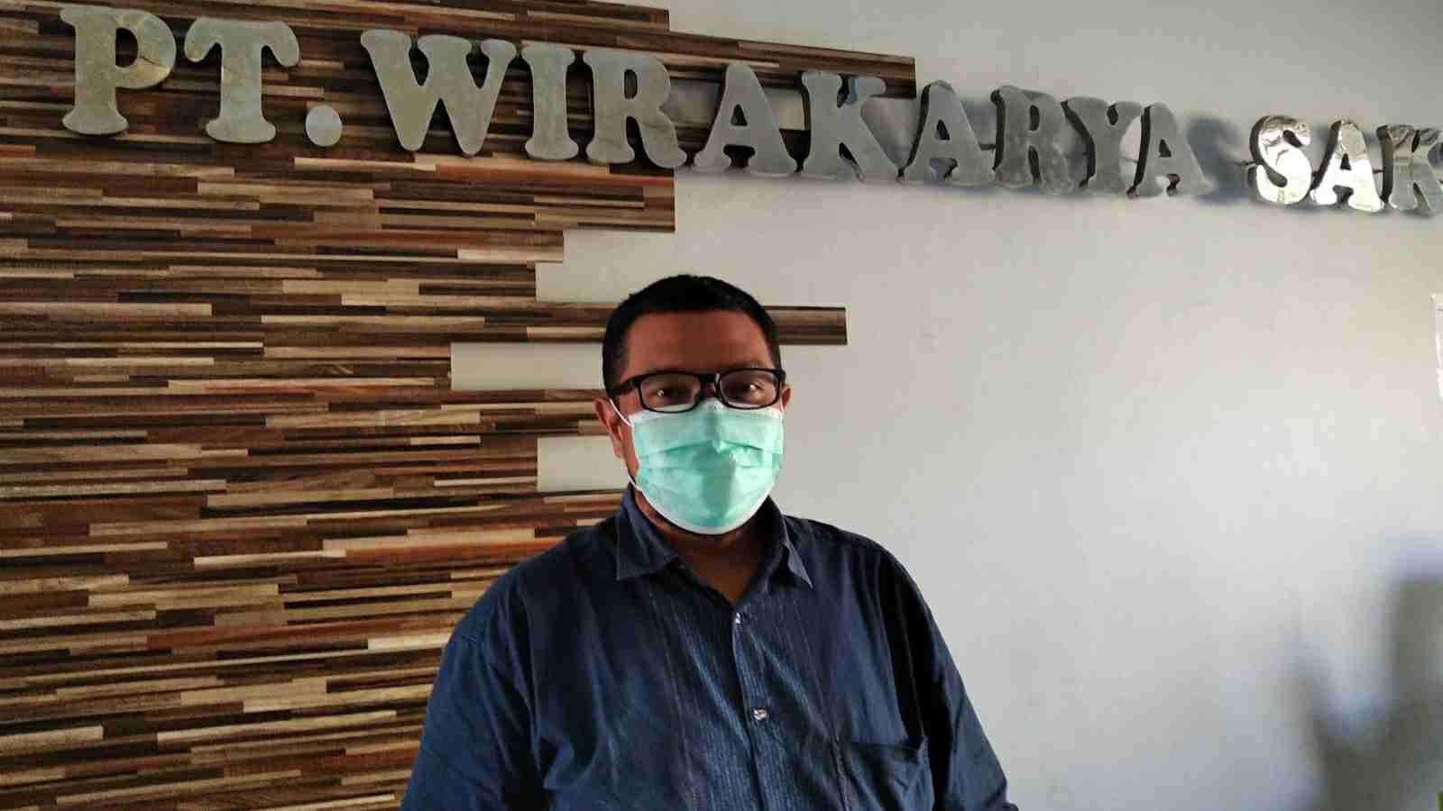 Humas PT. WKS, Yoppy Setyantoro