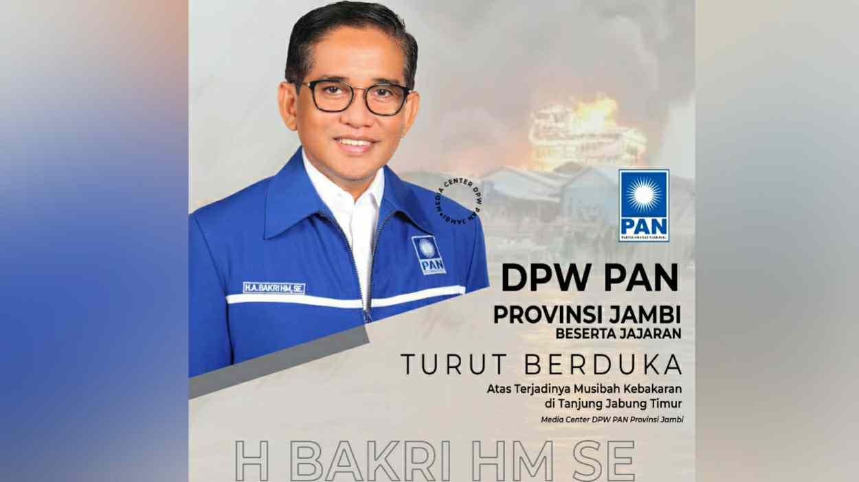 Ketua DPW PAN Provinsi Jambi, H. Bakri