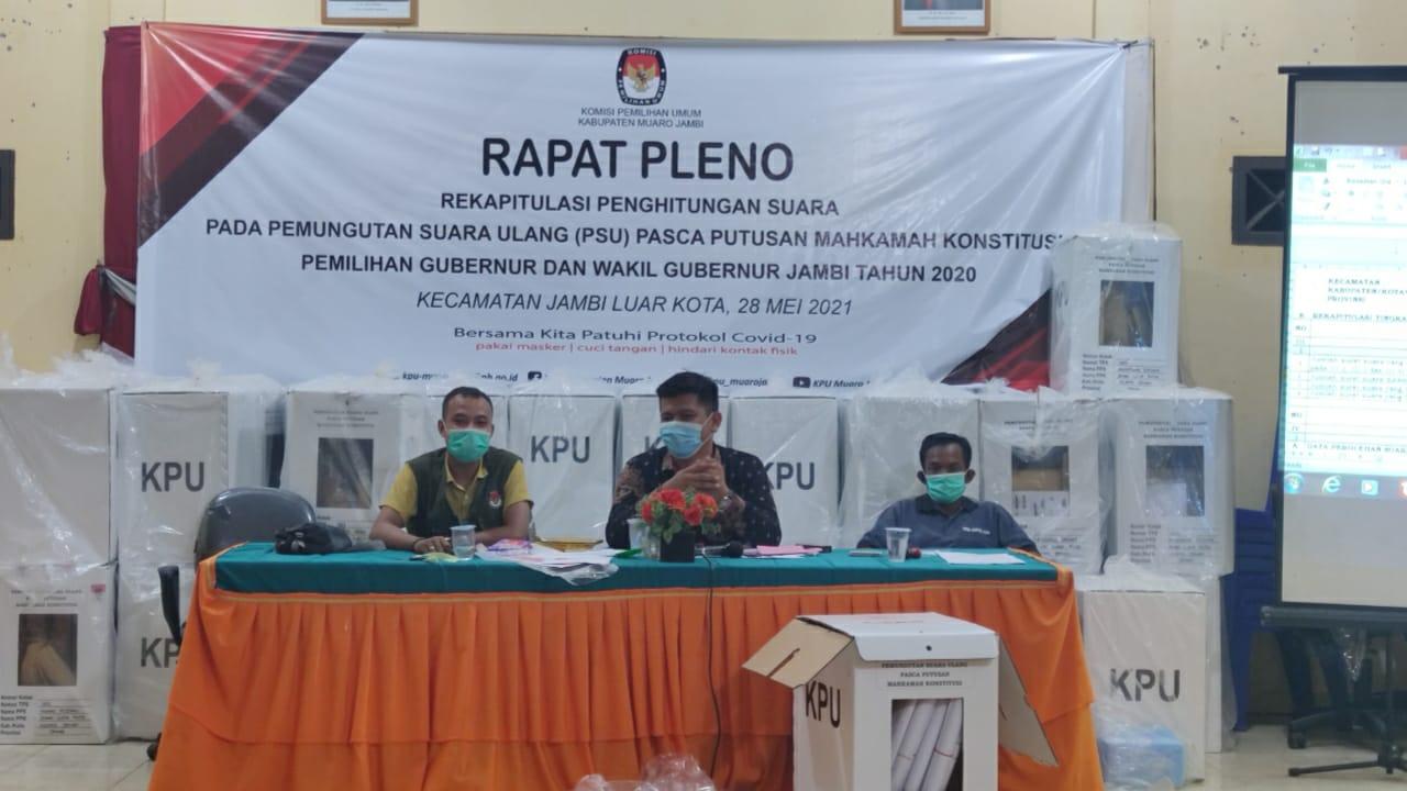 Rapat pleno PPK Jaluko
