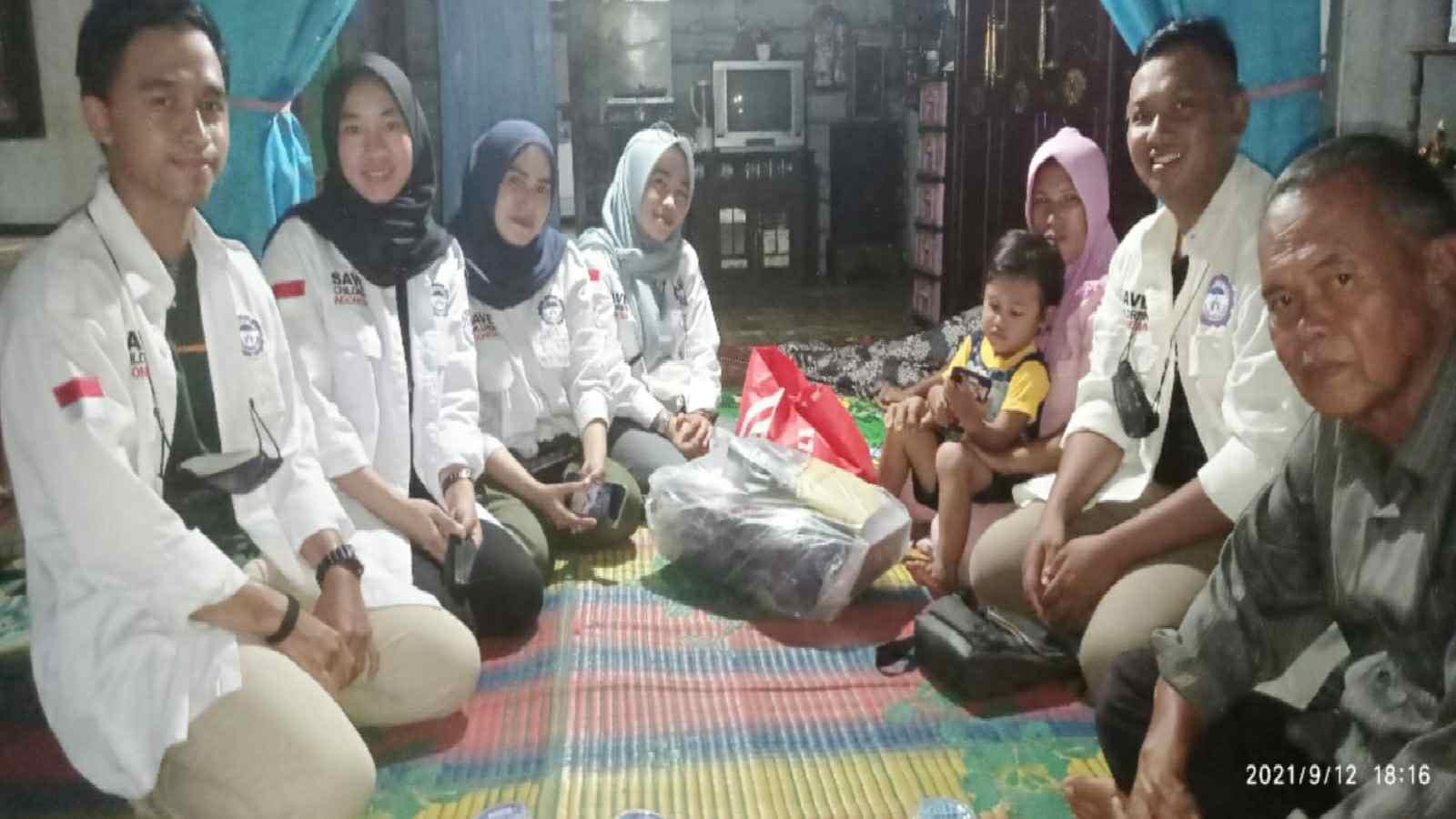 TRCPPA Jambi saat kunjungi kediaman rumah anak korban kekerasan di Teluk Dawan, Muara Sabak Barat