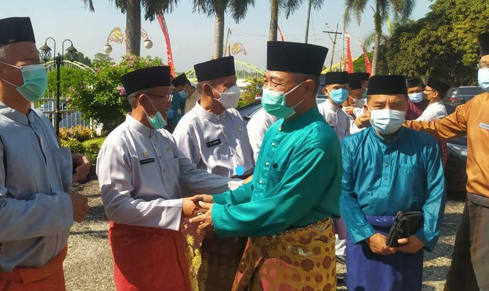 Bupati Mashuri saat hadiri HUT ke-22 Kabupaten Sarolangun