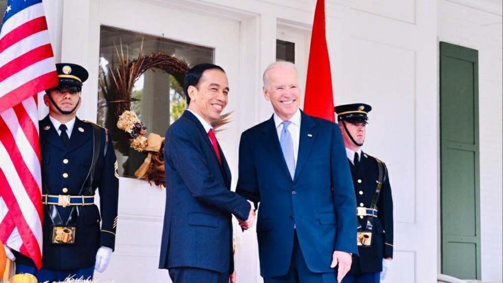 Jokowi dan Joe Biden
