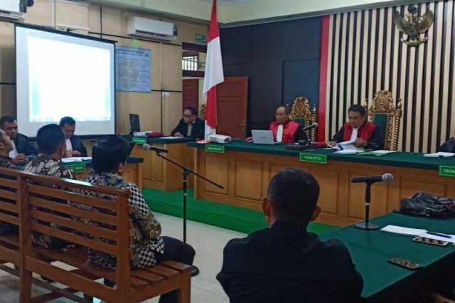 Majelis Hakim Vonis Zainal Abidin, Effendi Hatta dan Muhammadiyah 4 Tahun Penjara