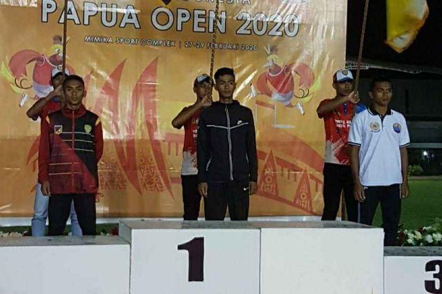 Raih Medali Emas di Papua Open, M. Adha Atlit PASI Jambi Dipastikan Lolos ke PON 2020