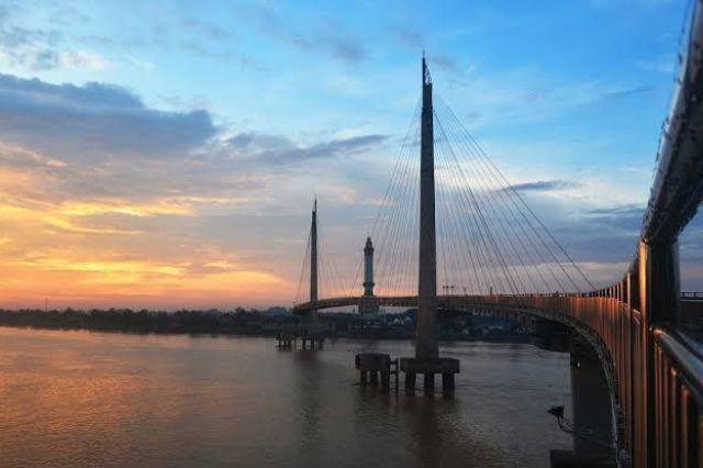 PUPR Provinsi Jambi Kucurkan Anggaran Pemeliharaan Jembatan Gentala Arasy