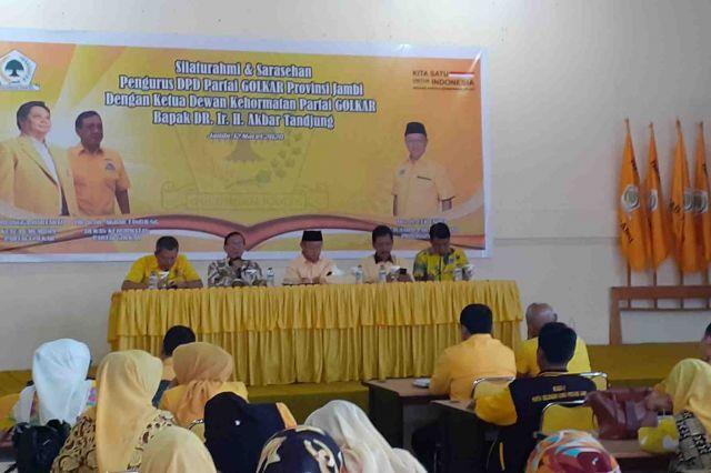 Akbar Tanjung: Mari Menangkan Cek Endra Menjadi Gubernur Jambi