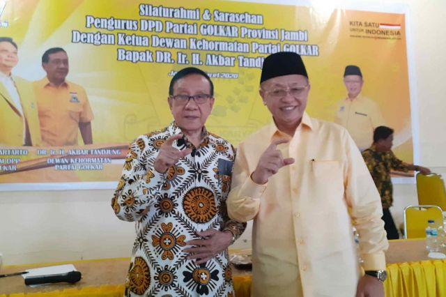 Dukung CE Menjadi Gubernur, Akbar Tanjung: Carilah Wakil yang Dapat Menaikan Elektabikitas