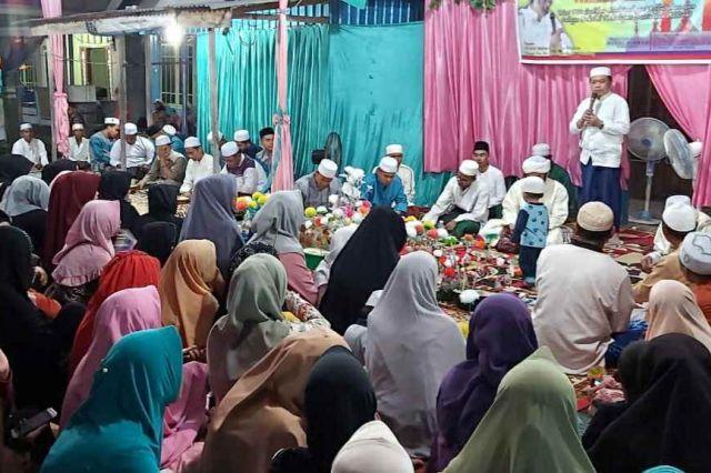 Hadiri Peringatan Isra' Mi'raj, Al Haris Dielu-elukan Warga Kuala Tungkal