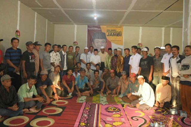 Silaturahmi Bersama Warga Betara, Al Haris Perkenalkan Program 'Segitiga Sentusa'