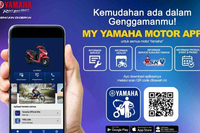 PT Yamaha Indonesia Motor Hadirkan Mobil Apps Terbaru 'My Yamaha Motor'