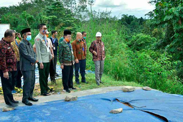 Fachrori Segera Upayakan Perbaikan Jalan Longsor di Punti Kalo Tebo