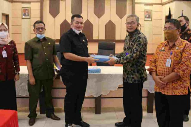 Jalin Silaturahmi, Bapemperda DPRD Kota Jambi Kunjungi Kemenkumham Wilayah Provinsi Jambi