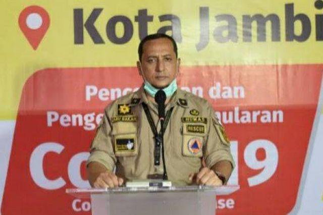 Dua Pasien Terbaru Positif Corona di Kota Jambi Berasal dari Kelurahan Handil Jaya