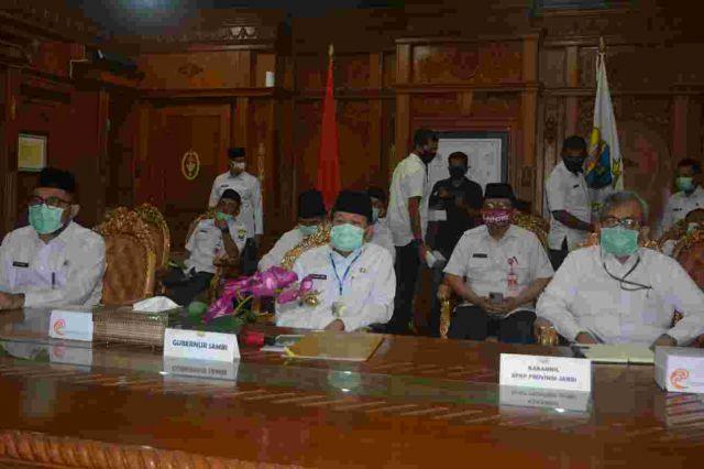 Gubernur Fachrori Dukung Upaya KPK Berantas Korupsi