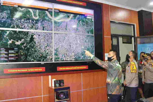 Koordinasi Penanganan Karhutla, Kapolda Jambi Sambut Kunjungan Kapolda Sumsel