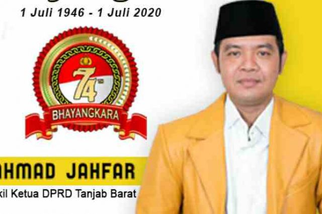 Ucapkan Selamat HUT Bhayangkara ke -74, Ahmad Jahfar: Semoga Makin Sukses dan Profesional
