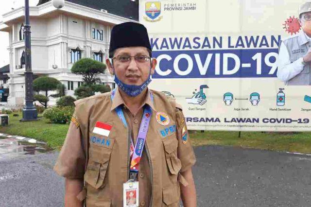 Bertambah Satu Pasien Positif Covid-19 Asal Kota Jambi, Johansyah: Riwayat Kontak Masih di Tracking