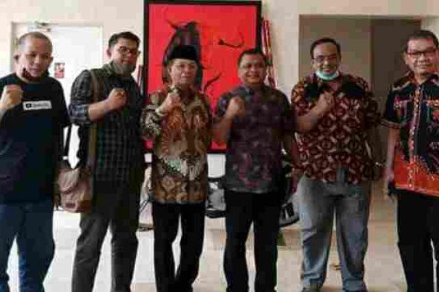 Silaturahmi ke Bappilu DPP, Sinyal Fachrori-Safrial Dapatkan Dukungan PDI Perjuangan Menguat