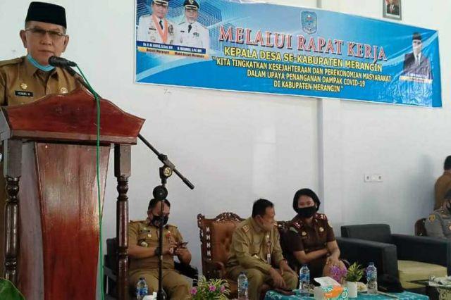 Tanjung Benuang Desa Terbaik 2020 se-Kabupaten Merangin