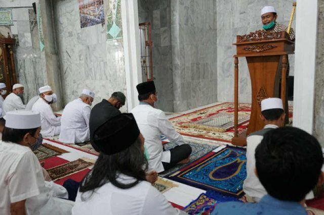 Sholat Jumat di Masjid Setya Negara, Syafril Nursal: Sejak Kecil Kami Anak Kosera Sholat Disini