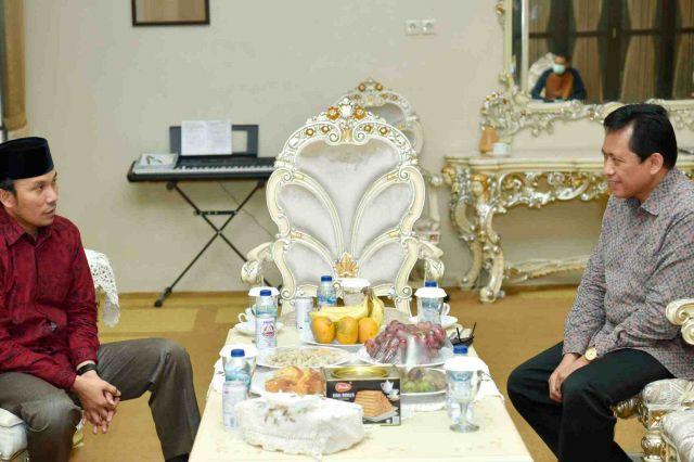 Pjs Gubernur Sambangi Ketua DPRD Provinsi Jambi