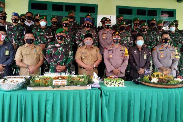 HUT TNI Ke-75, Safrial Harap TNI Semakin Profesional Dalam Menjaga Kedaulatan NKRI