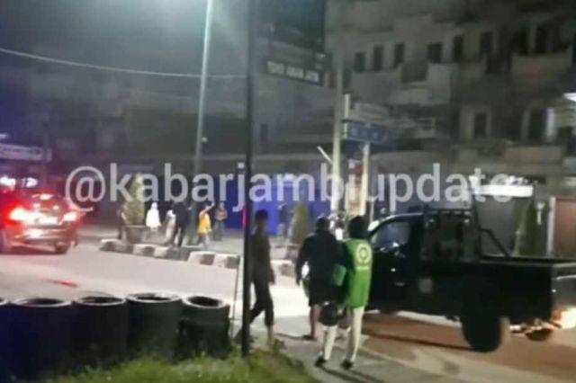 Polisi Cari Geng Motor yang Bekeliaran Bawa Senjata Tajam di Jambi