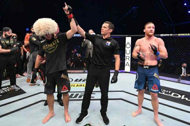 Pensiun dari UFC, Khabib Nurmagomedov Tak Pernah Berdarah
