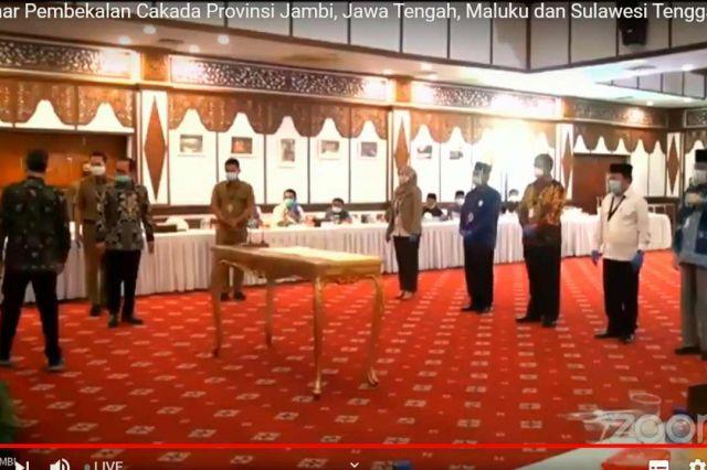 Penandatanganan Pakta Integritas Kandidat Gubernur dengan KPK, Hanya CE yang Tak Hadir
