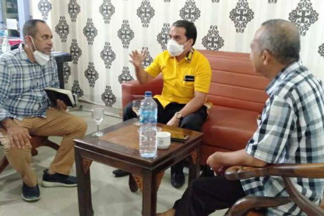 Ketua Tim Pemenangan Fachrori-Syafril Lakukan Kunjungan ke Jambi TV