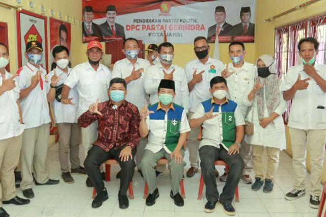Gerindra Kota Jambi Targetkan Kemenangan 75 Persen untuk Fachrori-Syafril