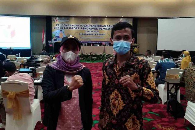 Alumni SKPP Bawaslu Lampung Ajak Masyarakat Awasi dan Sukseskan Pilkada Lampung 2020