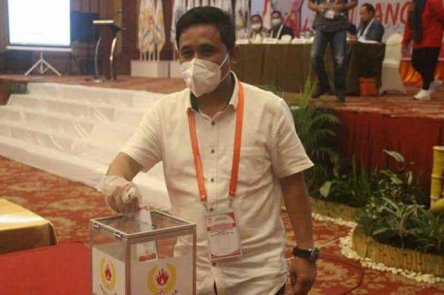 Resmi, Budi Setiawan Terpilih Menjadi Ketua KONI Provinsi Jambi 2020-2024