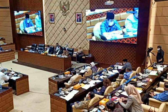 Tiga Anggota DPR RI Asal Jambi Pertanyakan Sejumlah Proyek ke Menteri PUPR