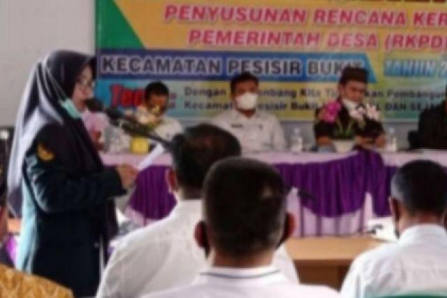 Ketua DPRD Sungai Penuh Hadiri Musrenbang Kecamatan Pesisir Bukit