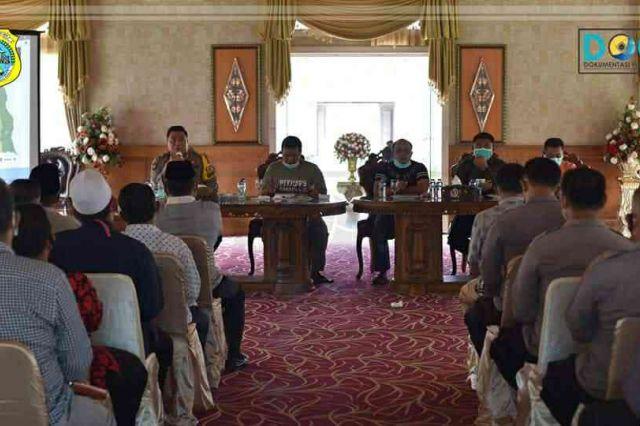 Bupati Tanjab Timur Pimpin Rakor Antisipasi Cepat Terhadap Penangan Covid-19